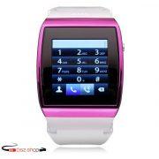 HI-Watch GSM Okosóra  Bluetooth   Sim kártyát fogad   Fehér-Pink