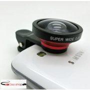 AIKEGlobal C08 0.4X Super Wide-angle Kameralencse  Piros - Fekete