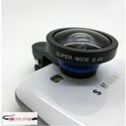 AIKEGlobal C08 0.4X Super Wide-Angle Kameralencse  Kék - Fekete