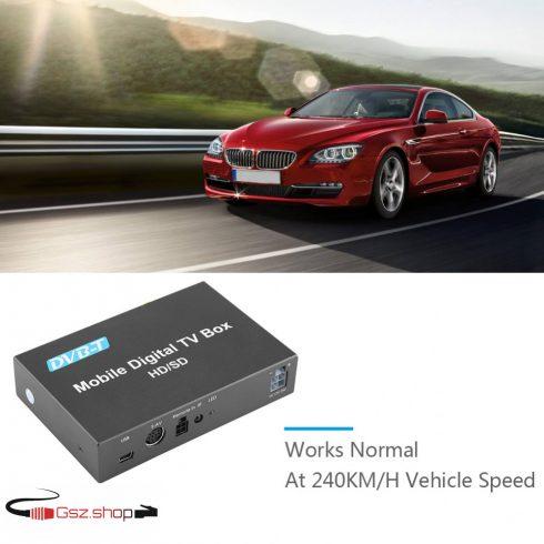 DVB-T vevő Autóba vagy Lakókocsiba