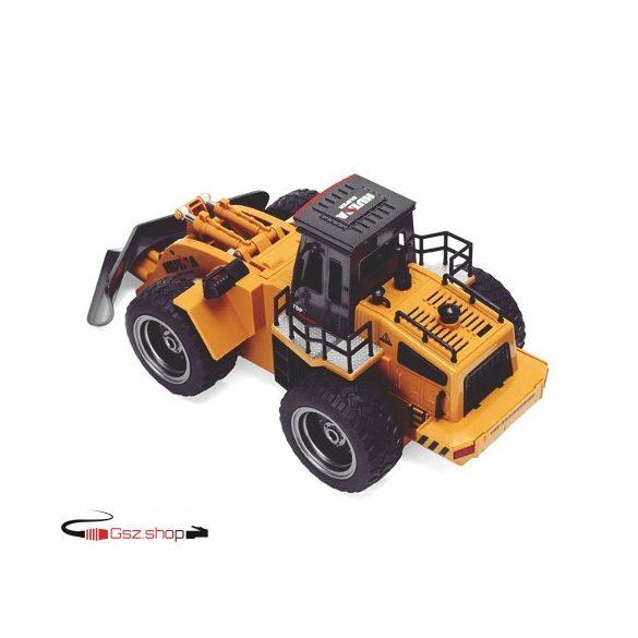 HuiNa Toys 1586 Hókotró 1:18  6 csatornás RC teherautó