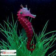 Fényes mesterséges szimulált hippocampus, környezetbarát anyag akváriumi dekoráció