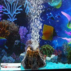 Vulkán akvárium dekoráció