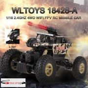Wltoys 18428-A 1/18 2.4G 4WD  Rc autó 0.3MP WIFI FPV off-road  RTR