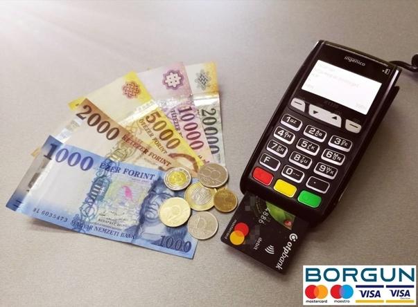 Fizetés Készpénzzel vagy Bankkártyával a Gsz.shop Átvételi Ponton